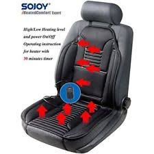 massage chair cushion. massage seat massager heated car chair cushion back home pad w timer new