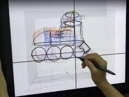 Sketching 3d Kaist Research Team Develops Innovative 3d Sketching