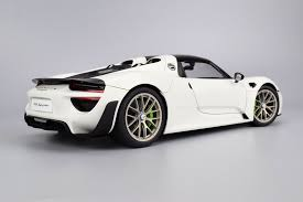 918 spyder white. at first glance you notice the depth in exterior paint finish glossy white does have some shine and life this is something missing from most composite 918 spyder r