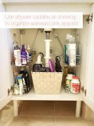 Diy Organization 40 Brilliant Diy Storage And Organization Hacks For Small Bathrooms