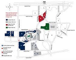 Cowboys Stadium Suite Chart Accessible At T Stadium Parking Ramps Maps Rates
