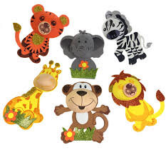 baby shower zoo animals. Plain Baby Amazoncom AVELLIM 12 Large Safari Jungle Zoo Animals 8 Inside Baby Shower A