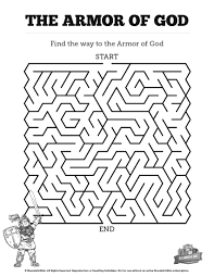 Helmet Of Salvation Coloring Page - creativemove.me