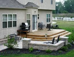 Backyard Decking Designs Model Custom Design