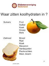 diabetes koolhydraten