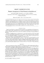 microbiology society journals regular arrangement of wall   preview thumbnail magnify