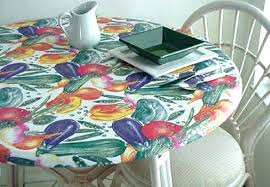 vinyl round tablecloth plastic tablecloths with elastic table covers get ations a fitted edge cover fits