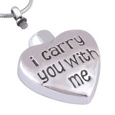 mom cremation jewelry whole cross angel wing i carry you with me urn pendant necklace locket
