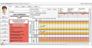 How To Record Vital Signs On A Chart 0012 Observation Chart Sm