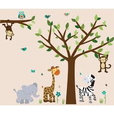 decoration ideas entrancing image of kid bedroom decoration using jungle theme wall decals