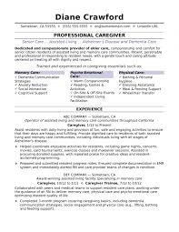 Caregiver Help Me With My Resume Objective Professional Writing Near