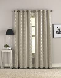 ... Excellent Curtains With Grommets Marshalls Curtains And Bedding Polka  Dots Design Curtains Silver Alumunium ...