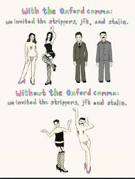 The Oxford Comma And Why We Argue Over Grammar