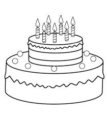 How To Draw A Birthday Cake Zupa Miljevcicom