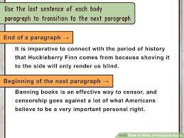 how to make a persuasive essay effective how to write a persuasive speech 13 steps pictures