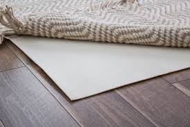 the best rug pad to use under jute rugs and over vinyl or laminate flooring