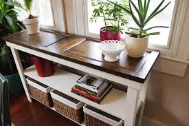 sofa decorative diy sofa table ideas 20 console done 31 old door icing on the cake
