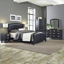 Home Styles Bedford Piece Black Queen Bedroom Set