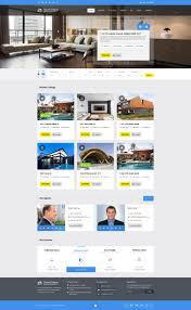 016 Real Estate Template Wordpress 01 Home Fascinating Ideas