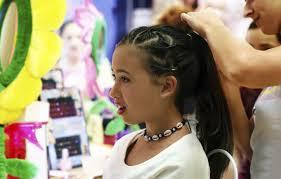 キッズダンスで人気の髪型まとめ女の子のヘアアレンジ編 キッズ In