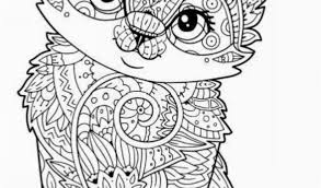 Hard Cute Animal Coloring Pages Cats And Their Tough Workload Ahead