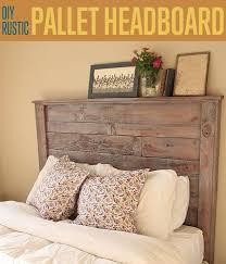 Homemade Headboard Ideas Best 25 Homemade Headboards Ideas On Pinterest  Rustic Bedroom