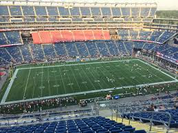 New England Patriots Seating Chart Gillette Stadium Seating Chart Patriots Game Foxborough
