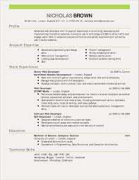 14 Good Resume Templates Collection Resume Database Template