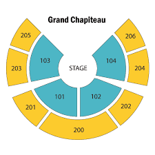 San Francisco Cirque Du Soleil Seating Chart Prototypical The Grand Chapiteau Toronto Seating Chart