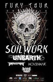 Image result for soilwork 2016 tour