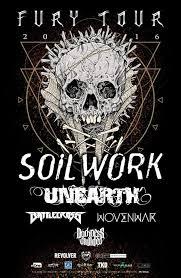 Image result for soilwork 2016 tour