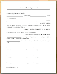 standard rental agreement template standard rental agreement form beautiful printable free copy lease