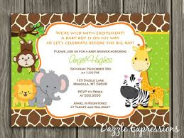 Free Printable Safari Birthday Invitations Free Printable Jungle Thank You Cards Download Them Or Print