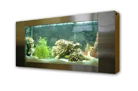 Wall Mounted Aquariums.