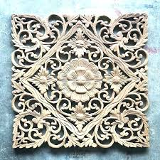 carved wood wall art india wooden wall art panels carved wood panel decor open carvings scroll