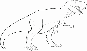 Dinosaur Coloring Pages For Kids At Getdrawingscom Free For