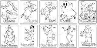 Small Picture Halloween Coloring Pages PdfColoringPrintable Coloring Pages
