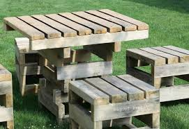 Outside furniture made from pallets Interior Pallet Garden Furniture08 Tetradsco Pallet Garden Furniture Nokonceptcom