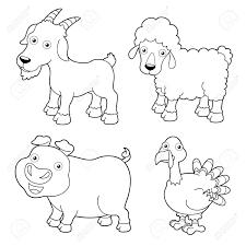 Top Coloring Farm Animals 82 #3846