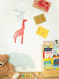 Make An Animal Silhouette Growth Chart Hgtv