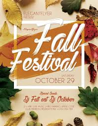 Fall Flyer Fall Festival Flyer Template Psd File Free Graphics Uihere