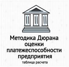 Методика Дюрана оценки платежеспособности предприятия