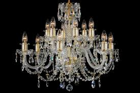 12 light classic georgian style chandelier in brass with gold candle sleeves clag 12
