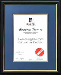Sample Degree Certificates Of Universities The University Of Adelaide Certificate Frame