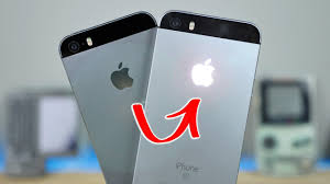 Iphone Se Light Mod Glowing Apple Logo On Iphone Se