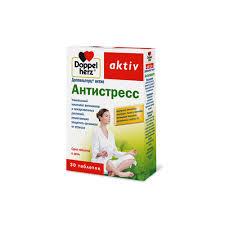 Купить <b>Антистресс 30</b> таблеток Doppelherz <b>Актив</b>: цена и отзывы ...