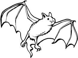 Bat Colouring In Vampire Bat Coloring Page Cricket Bat Coloring