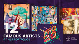 12 famous vector artists and their mind blowing portfolios