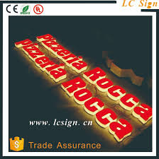 Plexiglass Led Channel Letter Signs 3d Logo For Store Sign With Ul
