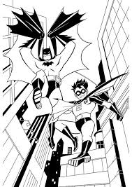 Printable 15 Batman And Robin Coloring Pages 9458 Batman And